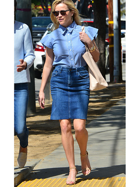 Reese Witherspoon - Jeansrock