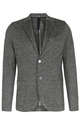 Leinen-Mix Blazer in Dunkelgrau - HARRIS WHARF LONDON