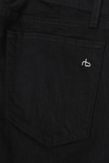 Extra Slim Stretch-Denim Jeans Fit 1 Schwarz