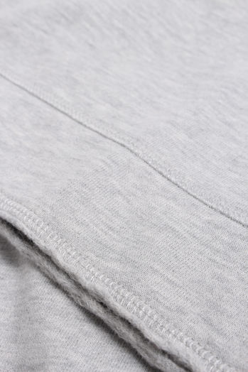 Sweater mit Baumwolle Light Grey Melange
