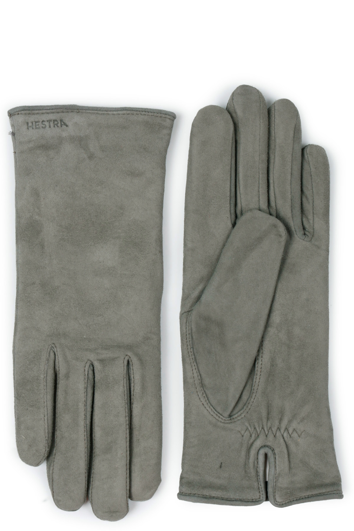 89b88f12830028 Gloves by Hestra in grey/green