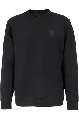 Scuba-Sweatshirt mit Logo-Patch