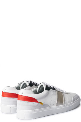 Sneakers Dunk White/Grey/Red