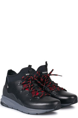High-Top Sneakers Boston aus Leder