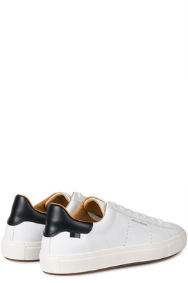 Low-Top-Sneakers aus Leder