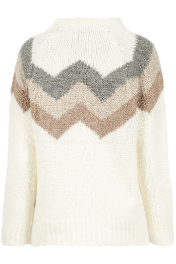 Pullover Flammee mit Wolle