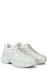 Sneakers Addict Bis White Leather/Grey Mesh