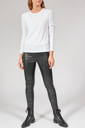 Leggings Berdiene in Leder-Optik