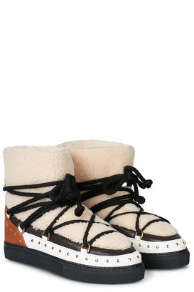 Stiefeletten Curly Rock Cream
