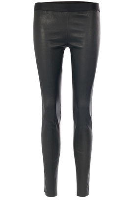 Leggings aus Leder