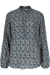 Bluse Edwin LS mit Floral-Print - SECOND FEMALE