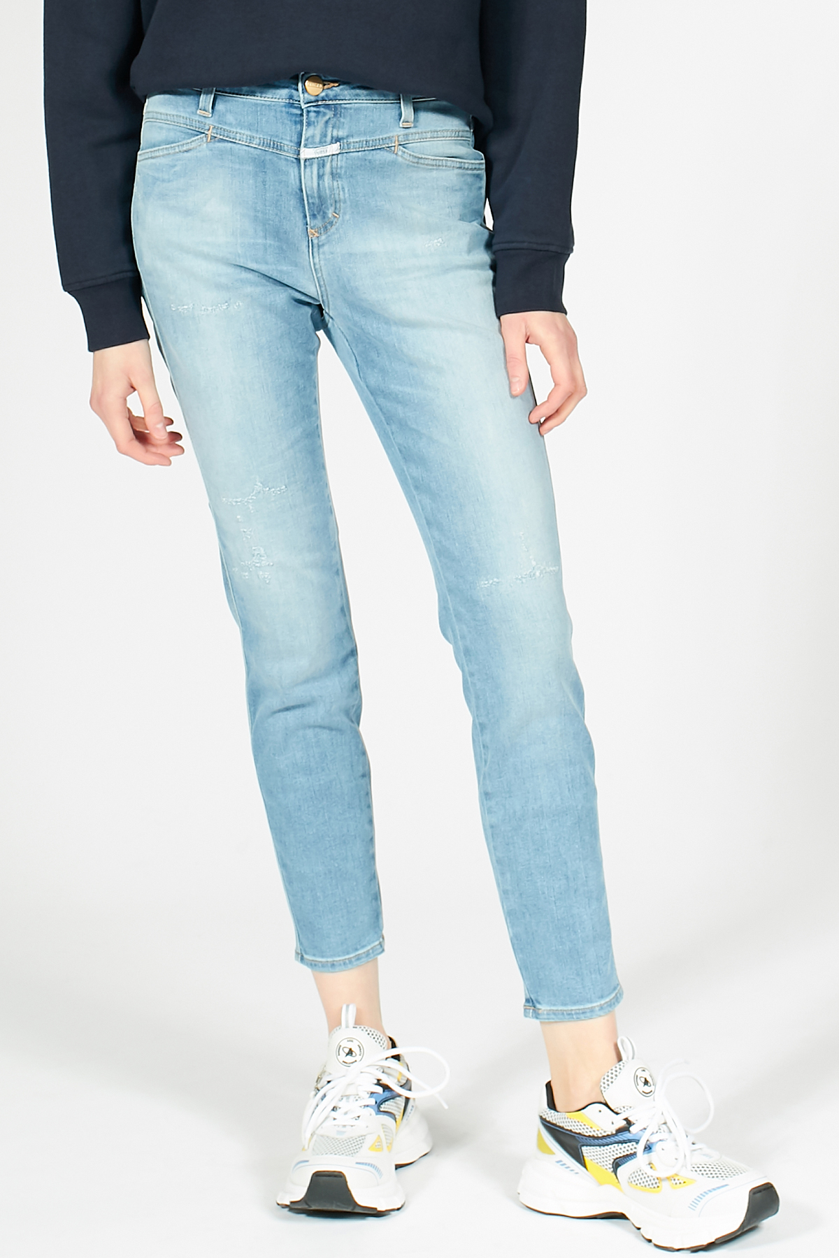 High Waist Jeans Skinny Pusher