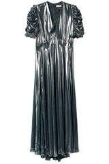Maxi-Kleid Roya Silver aus Satin - ZADIG & VOLTAIRE
