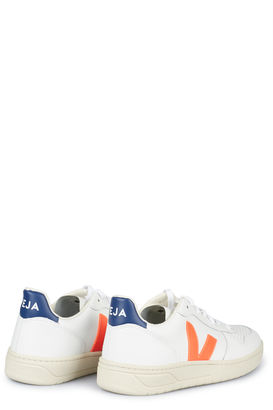 Sneakers V-10 Extra White Orange Cobalt