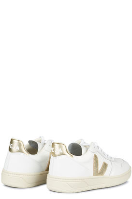 Sneakers V-10 B-Mesh White Gold