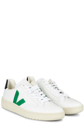 Sneakers V-12 Extra White Emeraude Black
