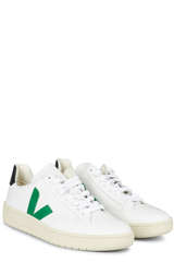Sneakers V-12 Extra White Emeraude Black - VEJA