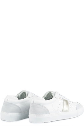 Sneakers Dunk White/Silver