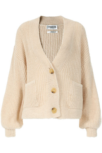 Strickjacke Try mit Mohair