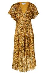Kleid aus Seide und Lurex - BA&SH