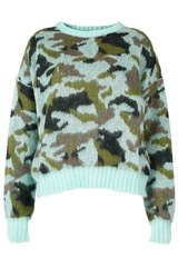 Pullover mit Mohair - CUSTOMMADE