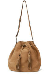 Bucket Bag aus Veloursleder - CLOSED