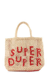 Jutetasche Super Duper Small - THE JACKSONS