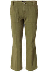 Culotte Cropped Alexa aus Twill - 7 FOR ALL MANKIND