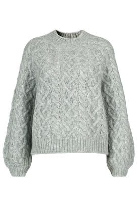 Pullover Aime mit Zopfmuster