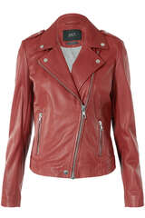 Lederjacke The Tyler im Biker-Stil - SET