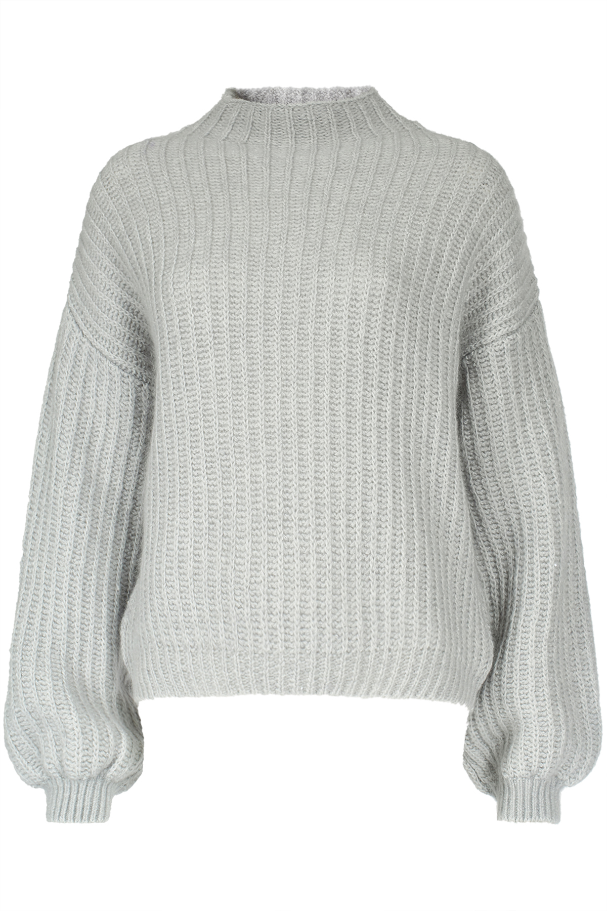 Pullover mit Mohairwolle