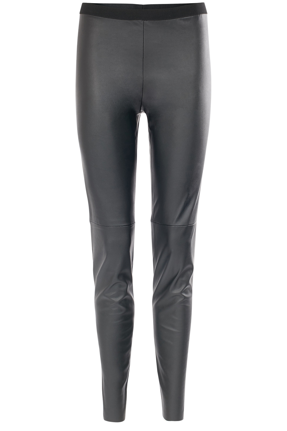 Leggings in Leder-Optik
