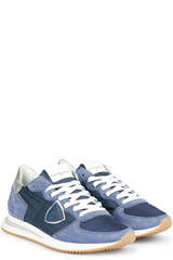 Sneakers TRPX L D Mondial Blue - PHILIPPE MODEL