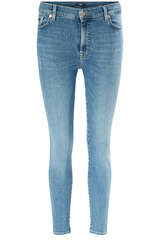 Jeans HW Skinny Crop Slim Illusion Countdown