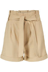 High-Waisted Paperbag Shorts - ANINE BING