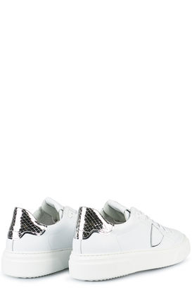 Sneakers Temple S Femme Veau Metal Phyton