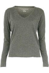 Langarmshirt aus Baumwolle und Cashmere - MAJESTIC FILATURES