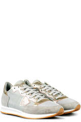 Sneakers Tropez L D Basic Gris Platinum - PHILIPPE MODEL