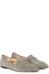 Loafer Grace aus Veloursleder - POMME D´OR