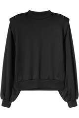 Sweatshirt mit Schulterpolstern - LES COYOTES DE PARIS