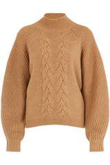 Pullover aus Cashmere mit Zopfmuster - STEFFEN SCHRAUT