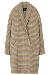 Mantel mit Schalkragen - STEFFEN SCHRAUT