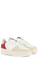 Sneakers Orbit White/Red/Dusty Pink - AXEL ARIGATO