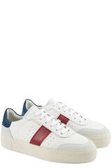 Sneakers Dunk V2 White/Navy/Red - AXEL ARIGATO