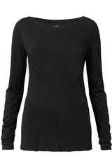 Langarmshirt aus Baumwolle und Viskose - JUVIA