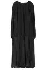 Midi-Kleid mit Plisseefalten - SAMSOE SAMSOE