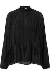 Bluse Lady mit Plisseefalten - SAMSOE SAMSOE