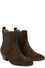 Chelsea Boots aus Veloursleder - CLOSED