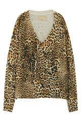 Pullover mit Leo Print aus Cashmere - ZADIG & VOLTAIRE