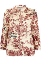 Bluse Tygg Jouy Satin - ZADIG & VOLTAIRE